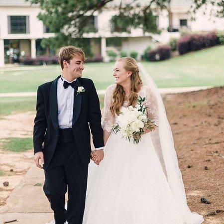 Columbus, MS: bride and groom