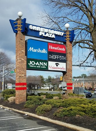 In Shrewsbury Plaza on Route 35 South