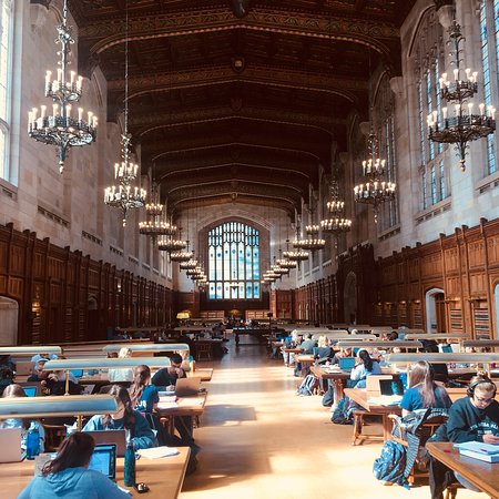 Law Quadrangle: Nice library