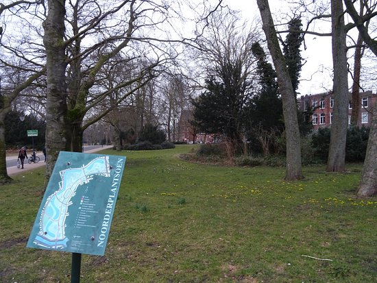 Groningen, The Netherlands: Noorderplantsoen ; door landschaps architect H.Copijn 1879-1881