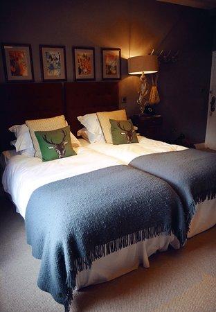 Hindon, UK: Twin Room - Room no.9