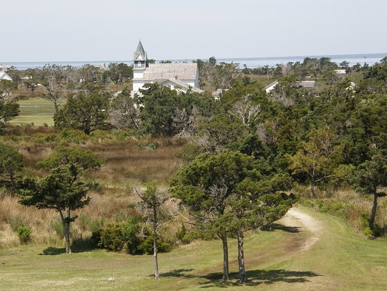 Portsmouth Village: A view from the life-saving station's observation tower is pretty impressive.
