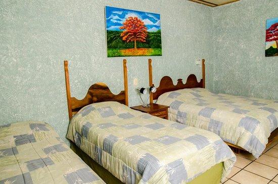 San Marcos, Nicarágua: Habitacion para 3 personas hotel boutique y restaurante hacienda san pedro.com