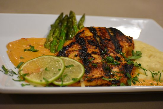 Culver City, Califórnia: Honey Mustard Salmon