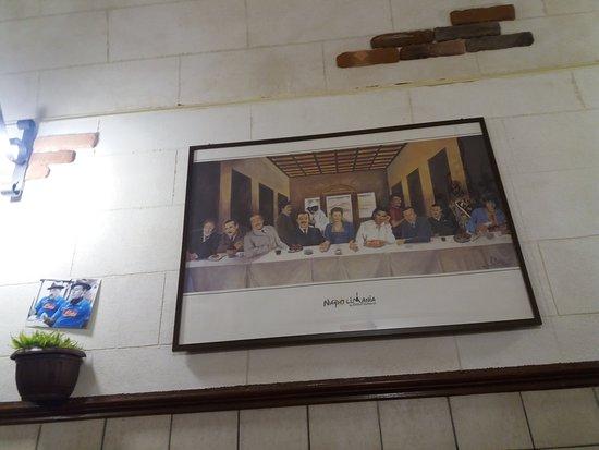 Decorazione Bagnoli : Decorazione parete foto di nu murzill sapurito napoli tripadvisor