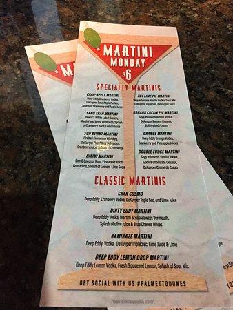 Martin Monday Menu - Picture of Big Jim's BBQ, Burgers ...