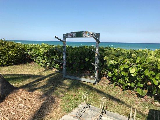 Juno Beach, FL: board rack