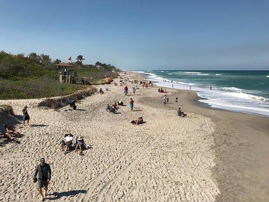 Juno Beach, FL: view to north