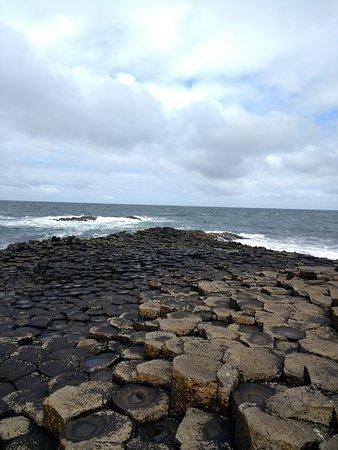 Ballycastle, Ireland: giant`s causeway