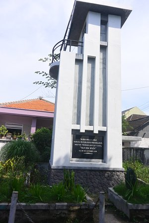 Lamongan, Indonesia: Monumen Van Der Wijck