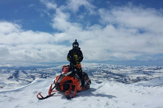 Landmannalaugar Highland Snowmobiling...