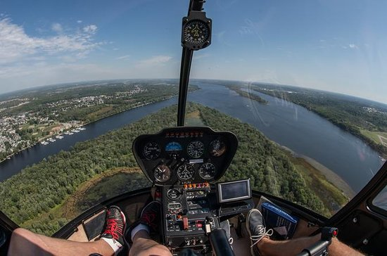 Best of Ottawa Tour plus Helicopter Ride