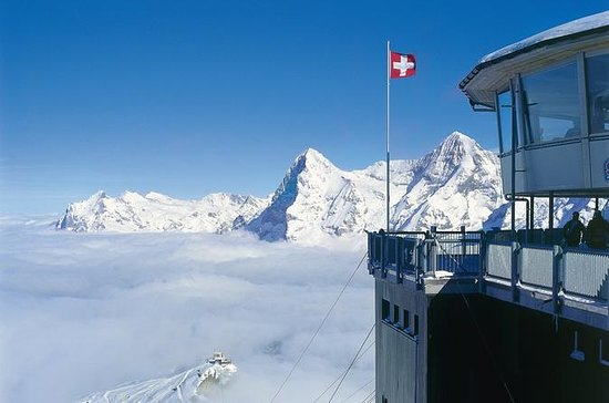Schilthorn - James Bond world - from...
