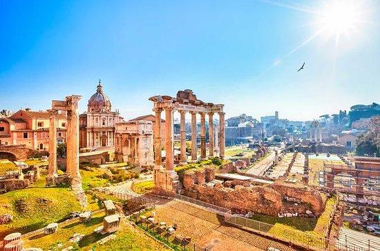 Colosseum, Roman Forum, Palatine hill...