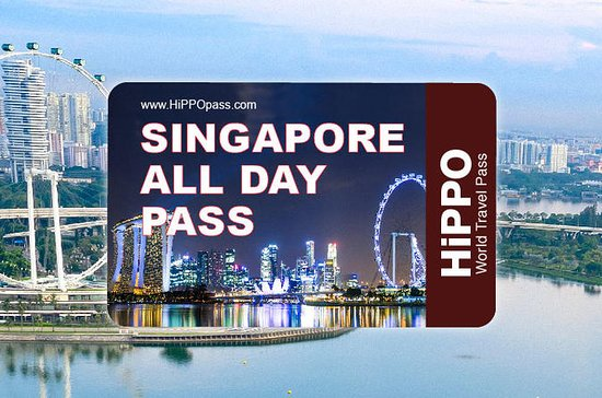 The Singapore All Day Pass 2 or 3-days including Universal Studios: The Singapore All Day Pass