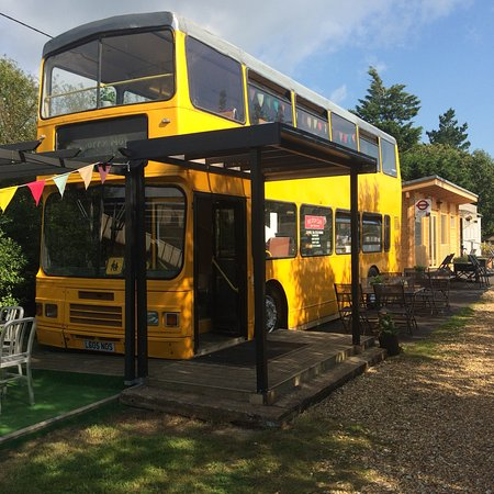 Branstone, UK: The quirky Bus Stop Cafe