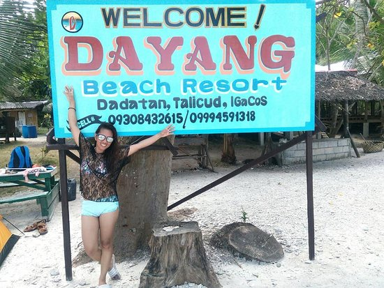 Just contact these numbers... - Picture of Dayang Beach Resort ...