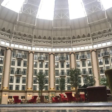 West Baden Springs, IN: January 2018.  Lunch at Ballard's in the atrium.