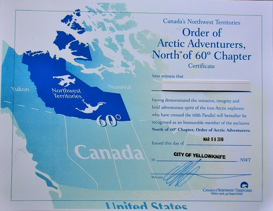 Map Of Canada Yellowknife.展示されているもの Picture Of Yellowknife Visitor Centre And