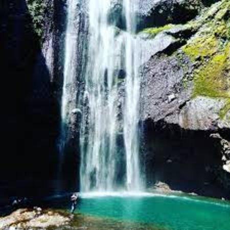 Madakaripura Waterfall: itu kolamnya dan air terjun yang jatuh tepat diatasnya