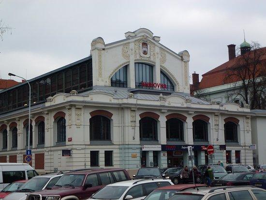 Smichov market hall