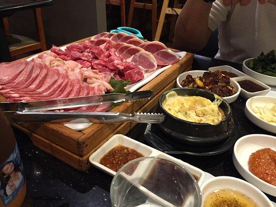 Rowland Heights, Καλιφόρνια: Cham Sut Gol Meat