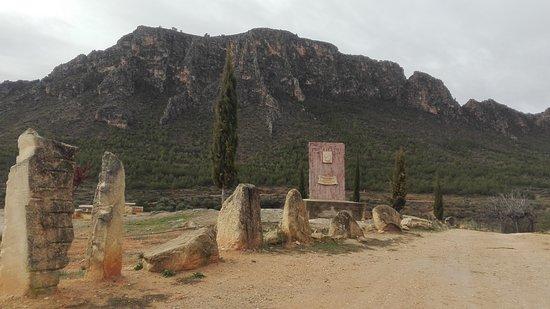 Elche de la Sierra, Ισπανία: Paraje donde se cree tuvo lugar la batalla que le costó la vida al General Cartaginés Almilcar B