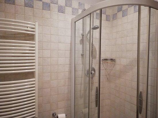 Camera con bagno privato box doccia bild von park hotel villa