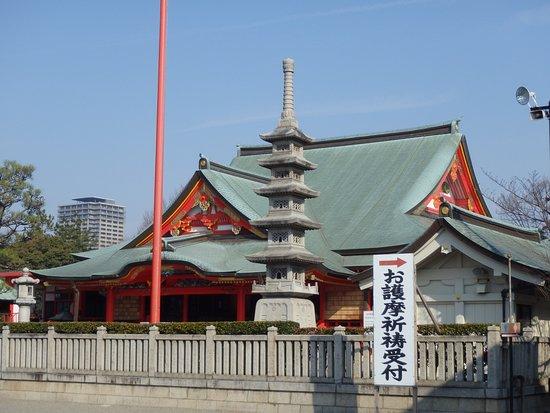 Neyagawa, Japan: 本堂、この中で護摩祈祷を受けました