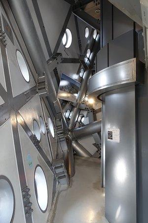 Art Tower Mito: 展望階は恐ろしく狭い