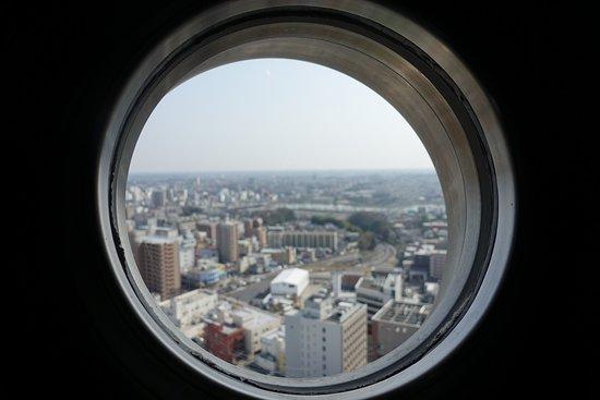 Art Tower Mito: 見えづらい場所にあります