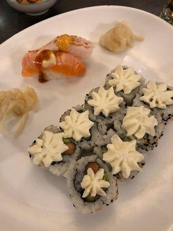 East Jutland, الدنمارك: Sushi