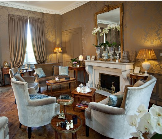 Salon du Château de Lalande Hôtel Restaurant Périgord