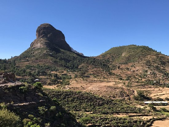 Mek'ele, Ethiopia: Adwa chained mountains.