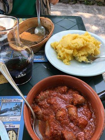 San Bernardino Verbano, Ιταλία: polenta e carni