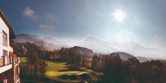 Grand Tirolia: View to Golfcourse