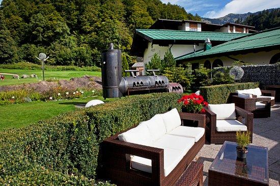 Grand Tirolia: Herbarium and Golf Terrace