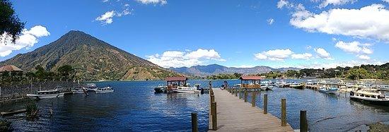 Posada de Santiago: Santiago Atitlan jetty