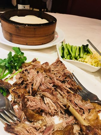 Pacific: Beijing aromatic crispy duck with pancakes & dressing