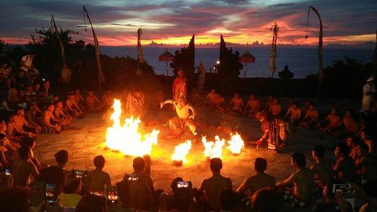 Kecak Fire & Trance Dance (Pura Dalem Taman Kaja)