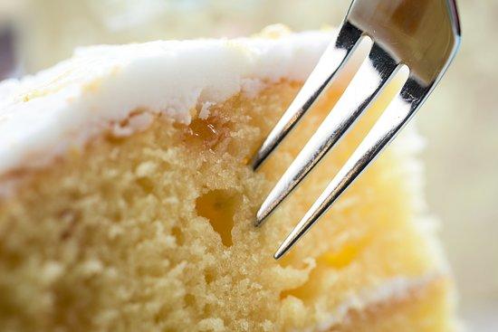 Hettie's Tearoom: Our Lemon Drizzle Cake is divine!