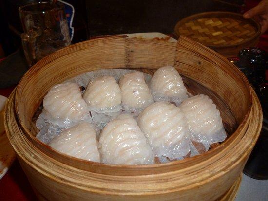 Chinatown Seafood Restaurant: Ravioli di solo gamberi