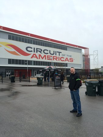 Circuit of The Americas: Front entrance