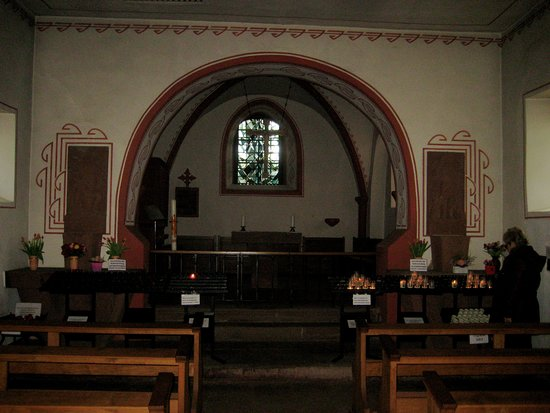 Schalkenmehren, Tyskland: Weinfelder Kapelle