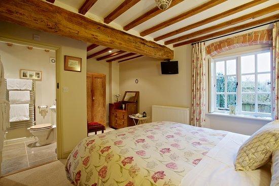 Cropston, UK: Groundfloor Bedroom and en-suite