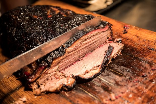 Castle Bromwich, UK: Texas style brisket carved to order