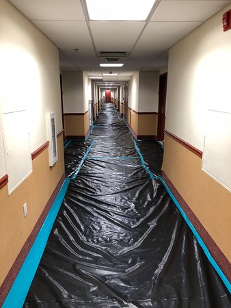 La Quinta Inn & Suites Coral Springs University Dr : 3rd floor hallway