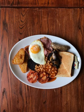 The Vaults Pub and Bed & Breakfast: Breakfast