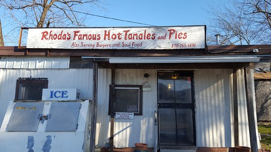 Lake Village, AR: Rhoda's Famous Hot Tamales and Pies
