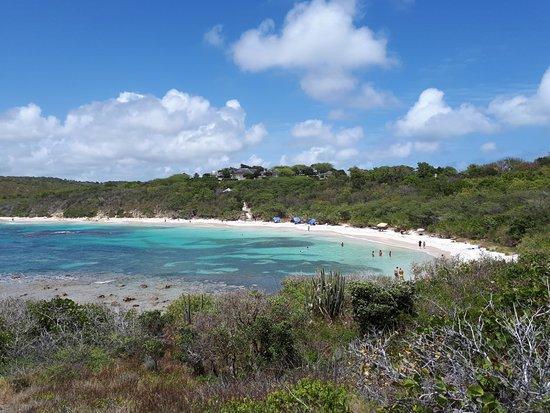 Saint Philip Parish, Antigua: Vista de la Bahia Half Moon Beach